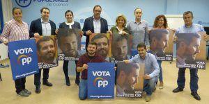 El PP de Cuenca arranca su campaña pidiendo que se aglutine el voto en el Partido Popular como única alternativa al PSOE de Pedro Sánchez