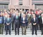 El presidente y Director General de Eurocaja Rural destacan la labor promocional y comercializadora de Oleotoledo y el apoyo de la entidad al sector agroalimentario