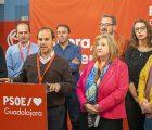 El PSOE de Guadalajara refuerza su victoria en la provincia superando el 31% de los votos