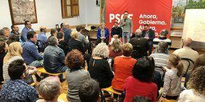 """El PSOE saca pecho tras el debate """"Pedro Sánchez mencionó a Guadalajara en el debate, ha venido aquí y tiene una Ministra de la provincia, apostará por nosotros"""""""