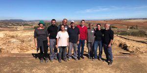 El taller de empleo de Valle de Altomira ha permitido la contratación de diez personas para la mejora del conjunto arqueológico de La Cava