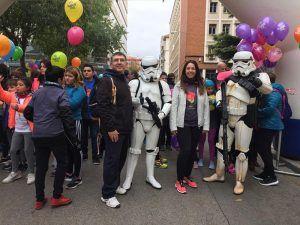 Estefanía Mellado participa en la Carrera y Marcha Solidaria Contra el Cáncer organizada por la Fundación Leticia Castillejo
