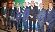 Eurocaja Rural patrocina la Asamblea General de CEOE CEPYME Tarancón, donde ha sido reelegido como presidente Javier López Cortés