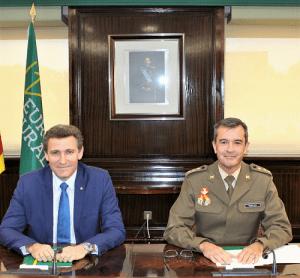 Eurocaja Rural y la Academia de Infantería renuevan su acuerdo para colaborar en los actos de la Inmaculada