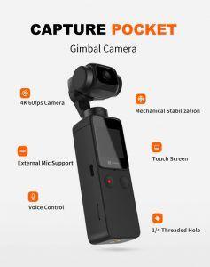 Funsap da la campanada y presenta una mini cámara con gimbal con altas prestaciones a un precio realmente bajo