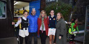 La delegada de la Junta valora los éxitos deportivos del Club de Piragüismo Cuenca