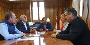 La Diputación de Cuenca analiza con ASAJA la situación del sector agrario en la provincia de Cuenca