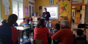 La Diputación de Guadalajara celebra una sesión didáctica en el CRA de Alcolea del Pinar