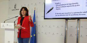 La Junta amplía en casi un millón de euros la partida destinada a la transformación de contratos temporales en indefinidos