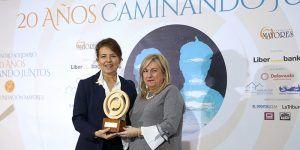 La Junta recibe el premio a la 'Excelencia' por la protección de las personas mayores