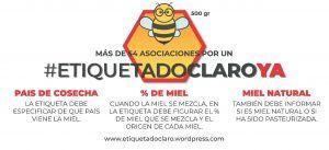 La Plataforma Etiquetado Claro Ya niega que Europa impida a España cambiar la legislación para clarificar el etiquetado de la miel