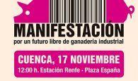 """La plataforma Pueblos Vivos convoca una manifestación en Cuenca este domingo para decir """"no"""" a la ganadería industrial"""