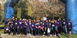 Más de 600 personas participan en la I Marcha Solidaria del Ayuntamiento de Cuenca