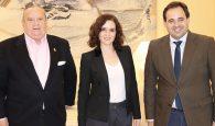 Núñez traslada a Díaz Ayuso el problema de la carretera M-117 y trabajará junto a la presidenta madrileña en buscar una solución a la alta siniestralidad de la vía