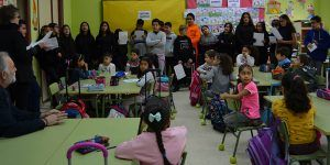 Numerosos centros educativos de Guadalajara conmemoran el Día Contra la Violencia de Género con variadas actividades