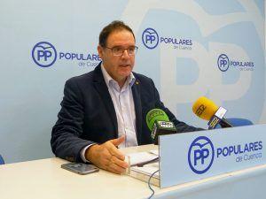"""Prieto lamenta que Page """"legitime y ampare"""" un pacto entre Sánchez y Podemos que va a perjudicar a Castilla-La Mancha y a Cuenca"""