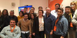 Ruiz asegura que los pactos de Ciudadanos con el PSOE en Castilla-La Mancha no les han pasado factura