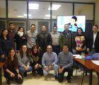 Sebastián Darpa forma a una quincena de empresarios conquenses en técnicas para hablar en público