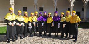Seis profesionales del Hospital de Guadalajara reciben su birrete en el acto de investidura de los nuevos Doctores de la Universidad de Alcalá