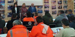 Un total de 115 voluntarios de distintas agrupaciones de las provincias de Toledo, Ciudad Real y Cuenca se forman en el curso básico de Protección Civil