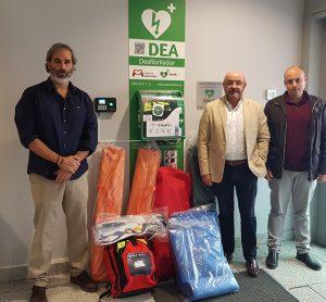 Un total de 25 agrupaciones de Protección Civil reciben el material de emergencias que les ha sido concedido en las subvenciones del Gobierno regional