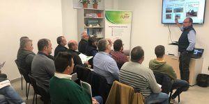 Una treintena de agricultores y ganaderos de Cuenca participan en la jornada 'Aula Sostenible' promovida por ICPOR