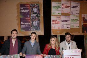 """Unidas Podemos arranca en Cuenca la campaña presentando """"un modelo alejado de macrogranjas y cementerios nucleares"""""""