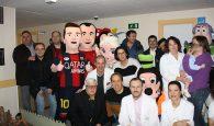 """""""Sonrisas Blaugranas"""" para los niños ingresados en la planta de Pediatría del Hospital Virgen de la Luz de Cuenca"""