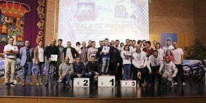 Celebrada la entrega de premios del Circuito MTB Diputación de Guadalajara