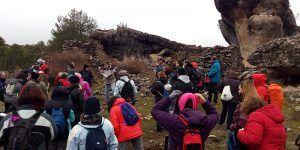 Cerca de 60 personas marchan desde Cuenca a Valdecabras gracias al programa Cuencleta. Naturaleza y Patrimonio