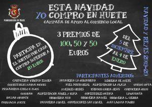 Comienza la campaña «Esta Navidad yo compro en Huete…» con sorteo de 3 premios