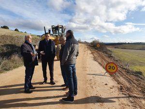 Comienzan las obras del camino que une Jábaga y Chillarón y en el que la Diputación de Cuenca invertirá 200.000 euros