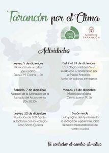 El Ayuntamiento de Tarancón se suma a las actividades con motivo de la Cumbre del Clima