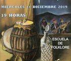"""La Escuela de Folklore de la Diputación de Guadalajara ofrece el próximo miércoles 11 su """"Actuación de Navidad"""""""