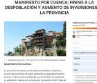 El Colegio Oficial de Médicos de Cuenca se adhiere al Manifiesto por Cuenca
