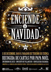 """El parador de Cuenca """"Enciende la Navidad"""" más solidaria"""