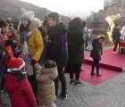 El Parador de Cuenca enciende la Navidad ante más de 500 personas