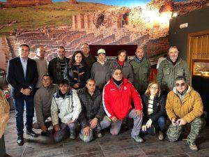 El programa RECUAL en Valeria permitirá aumentar la oferta cultural y turística del yacimiento arqueológico