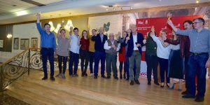 El PSOE de Cuenca reúne a más de un millar de militantes en sus encuentros navideños