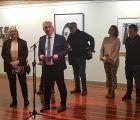 José Luis Vega inaugura la exposición con los Premios Provincia de Guadalajara 2019 de dibujo y fotografía