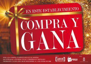 """La Asociación de Comercio lanza un año más su campaña """"Compra y gana"""""""