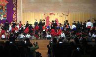 La Escuela de Folklore de la Diputación de Guadalajara ofreció una animada Actuación de Navidad