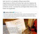 La repercusión de los tuits de García-Page sobre la Constitución supera los 170.000 usuarios