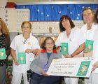 Los celadores del Hospital Virgen de la Luz de Cuenca donan el premio logrado en sus Jornadas Nacionales a la Asociación ADEMCU