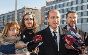 El Ayuntamiento de Guadalajara cede a la Junta de Castilla-La Mancha la parcela para la construcción de un centro de salud en la calle Rotundifolia