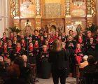 Un espectacular Concierto de Invierno llenó hasta los topes la Iglesia de Cabanillas
