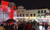 Un total de 665.000 bombillas led iluminarán la Navidad de Guadalajara con una gran caja musical en la Plaza Mayor