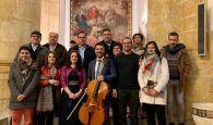Villaescusa de Haro presenta su Lienzo de Ánimas restaurado y el tercer número de la revista comarcal Terra Fari