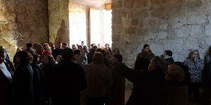 Brihuega inaugura el nuevo espacio del Castillo de la Piedra Bermeja con gran afluencia de público