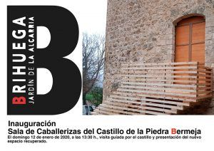 Brihuega inaugura un nuevo espacio el Castillo de la Piedra Bermeja la misma semana que es admitido en la selecta Asociación y Club de Producto Turístico de Castillos y Palacios de España